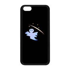 Ghost Night Night Sky Small Sweet Apple Iphone 5c Seamless Case (black) by Amaryn4rt