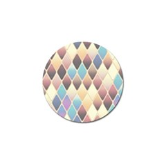 Abstract Colorful Background Tile Golf Ball Marker (4 pack) by Amaryn4rt