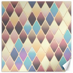 Abstract Colorful Background Tile Canvas 20  X 20