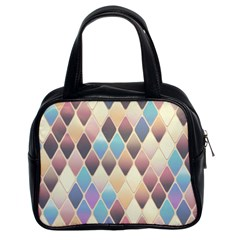 Abstract Colorful Background Tile Classic Handbags (2 Sides) by Amaryn4rt