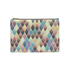 Abstract Colorful Background Tile Cosmetic Bag (medium)  by Amaryn4rt