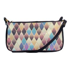 Abstract Colorful Background Tile Shoulder Clutch Bags by Amaryn4rt