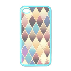 Abstract Colorful Background Tile Apple Iphone 4 Case (color) by Amaryn4rt