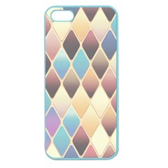 Abstract Colorful Background Tile Apple Seamless Iphone 5 Case (color)