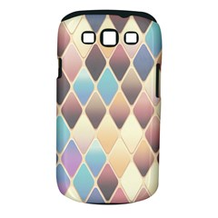 Abstract Colorful Background Tile Samsung Galaxy S Iii Classic Hardshell Case (pc+silicone)