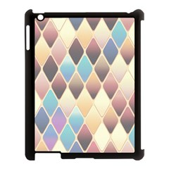 Abstract Colorful Background Tile Apple Ipad 3/4 Case (black)