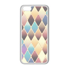 Abstract Colorful Background Tile Apple Iphone 5c Seamless Case (white) by Amaryn4rt