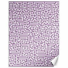 Maze Lost Confusing Puzzle Canvas 12  X 16