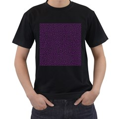 Maze Lost Confusing Puzzle Men s T Shirt (black)