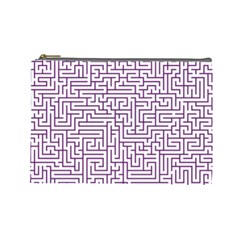 Maze Lost Confusing Puzzle Cosmetic Bag (large)