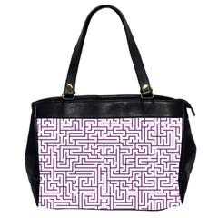 Maze Lost Confusing Puzzle Office Handbags (2 Sides)