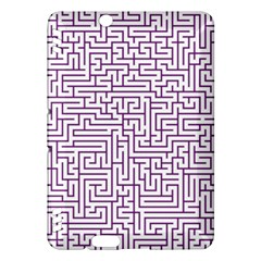 Maze Lost Confusing Puzzle Kindle Fire Hdx Hardshell Case by Amaryn4rt