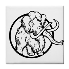 Mammoth Elephant Strong Tile Coasters