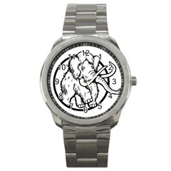 Mammoth Elephant Strong Sport Metal Watch