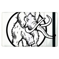 Mammoth Elephant Strong Apple Ipad 2 Flip Case by Amaryn4rt
