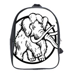 Mammoth Elephant Strong School Bags (xl)  by Amaryn4rt