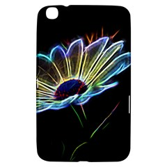 Flower Pattern Design Abstract Background Samsung Galaxy Tab 3 (8 ) T3100 Hardshell Case