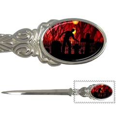 Horror Zombie Ghosts Creepy Letter Openers by Amaryn4rt