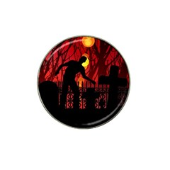 Horror Zombie Ghosts Creepy Hat Clip Ball Marker (10 Pack) by Amaryn4rt