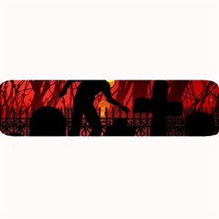 Horror Zombie Ghosts Creepy Large Bar Mats by Amaryn4rt