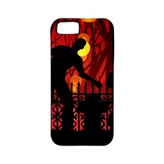 Horror Zombie Ghosts Creepy Apple Iphone 5 Classic Hardshell Case (pc+silicone) by Amaryn4rt