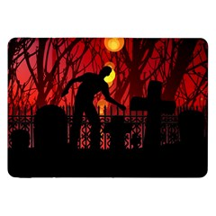 Horror Zombie Ghosts Creepy Samsung Galaxy Tab 8 9  P7300 Flip Case by Amaryn4rt