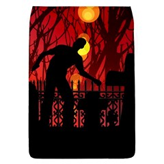 Horror Zombie Ghosts Creepy Flap Covers (l)  by Amaryn4rt