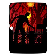 Horror Zombie Ghosts Creepy Samsung Galaxy Tab 3 (10 1 ) P5200 Hardshell Case  by Amaryn4rt