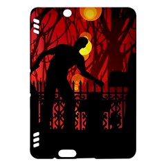 Horror Zombie Ghosts Creepy Kindle Fire Hdx Hardshell Case by Amaryn4rt