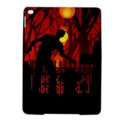 Horror Zombie Ghosts Creepy Ipad Air 2 Hardshell Cases by Amaryn4rt