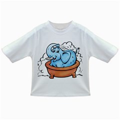 Elephant Bad Shower Infant/toddler T Shirts