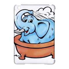 Elephant Bad Shower Apple Ipad Mini Hardshell Case (compatible With Smart Cover)