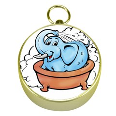 Elephant Bad Shower Gold Compasses