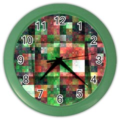 Paper Background Color Graphics Color Wall Clocks