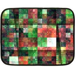 Paper Background Color Graphics Fleece Blanket (mini)