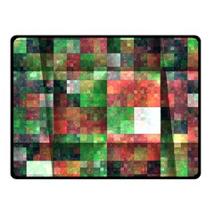 Paper Background Color Graphics Fleece Blanket (small)