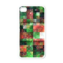 Paper Background Color Graphics Apple Iphone 4 Case (white)