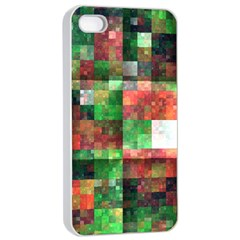Paper Background Color Graphics Apple Iphone 4/4s Seamless Case (white)