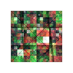 Paper Background Color Graphics Acrylic Tangram Puzzle (4  X 4 )