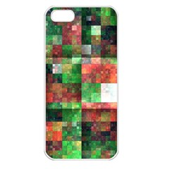 Paper Background Color Graphics Apple Iphone 5 Seamless Case (white)