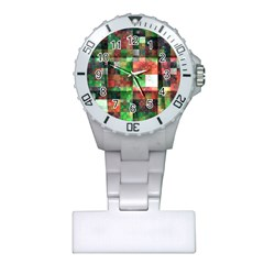 Paper Background Color Graphics Plastic Nurses Watch
