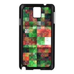 Paper Background Color Graphics Samsung Galaxy Note 3 N9005 Case (black)