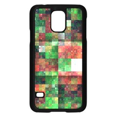 Paper Background Color Graphics Samsung Galaxy S5 Case (black)