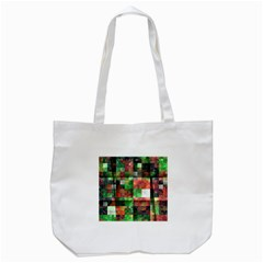 Paper Background Color Graphics Tote Bag (white)