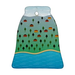 Rural Scenery Bell Ornament (2 Sides) by AnjaniArt