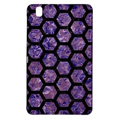 Hexagon2 Black Marble & Purple Marble (r) Samsung Galaxy Tab Pro 8 4 Hardshell Case by trendistuff