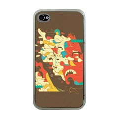Shadow Advance Apple Iphone 4 Case (clear) by AnjaniArt