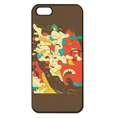 Shadow Advance Apple Iphone 5 Seamless Case (black) by AnjaniArt