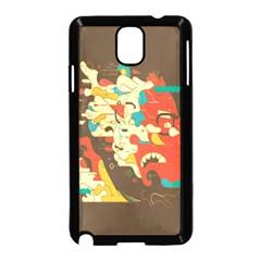 Shadow Advance Samsung Galaxy Note 3 Neo Hardshell Case (black) by AnjaniArt