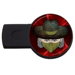 Illustration Drawing Vector Color Usb Flash Drive Round (2 Gb)
